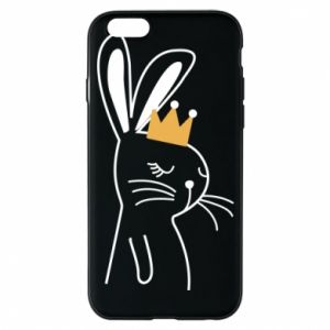 iPhone 6/6S Case Bunny in the crown