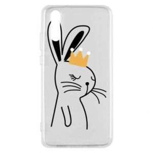 Huawei P20 Case Bunny in the crown
