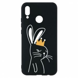 Huawei P20 Lite Case Bunny in the crown