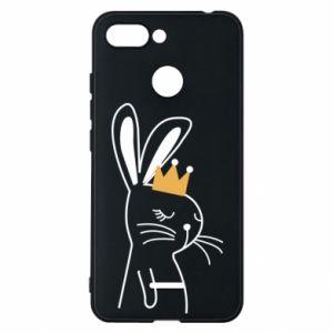 Xiaomi Redmi 6 Case Bunny in the crown
