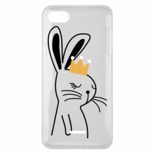 Xiaomi Redmi 6A Case Bunny in the crown