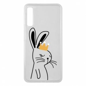 Samsung A7 2018 Case Bunny in the crown