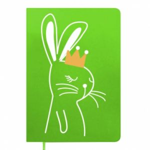 Notepad Bunny in the crown