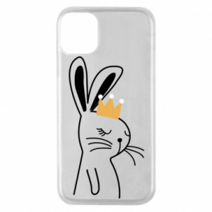 iPhone 11 Pro Case Bunny in the crown