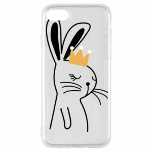 iPhone 7 Case Bunny in the crown