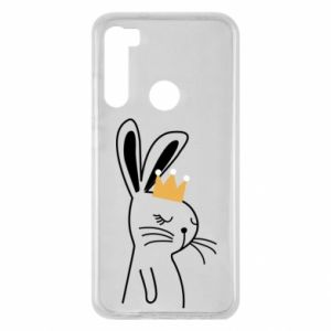 Xiaomi Redmi Note 8 Case Bunny in the crown