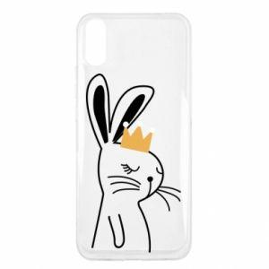 Xiaomi Redmi 9a Case Bunny in the crown