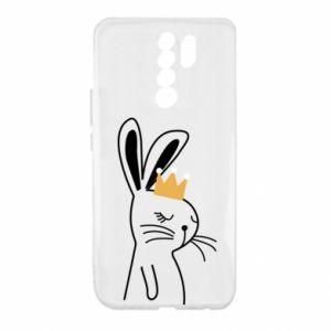 Xiaomi Redmi 9 Case Bunny in the crown