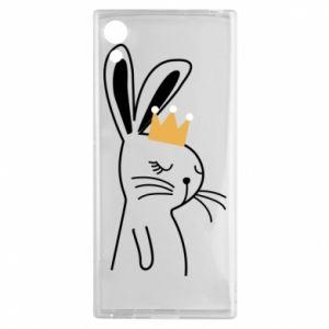 Sony Xperia XA1 Case Bunny in the crown