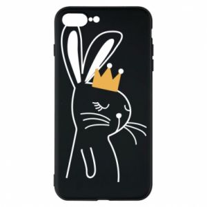 iPhone 7 Plus case Bunny in the crown