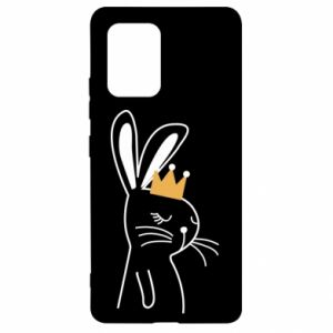 Samsung S10 Lite Case Bunny in the crown