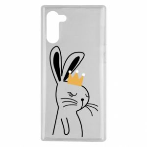 Samsung Note 10 Case Bunny in the crown