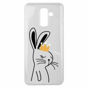 Samsung J8 2018 Case Bunny in the crown