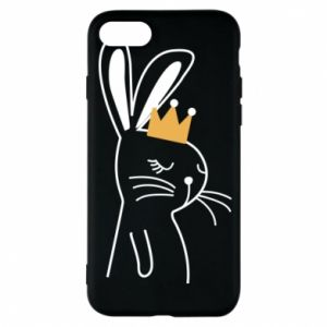 iPhone 8 Case Bunny in the crown