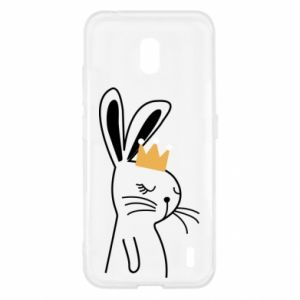 Nokia 2.2 Case Bunny in the crown