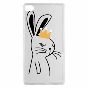 Huawei P8 Case Bunny in the crown