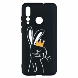 Huawei Nova 4 Case Bunny in the crown