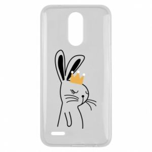 Lg K10 2017 Case Bunny in the crown
