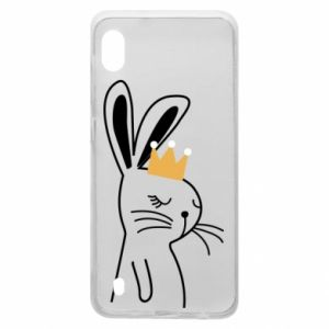 Samsung A10 Case Bunny in the crown