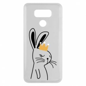 LG G6 Case Bunny in the crown