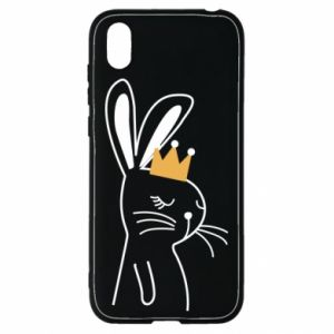 Huawei Y5 2019 Case Bunny in the crown