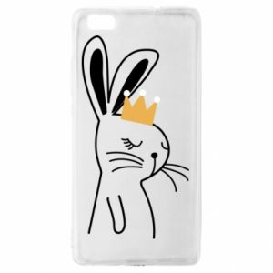 Huawei P8 Lite Case Bunny in the crown