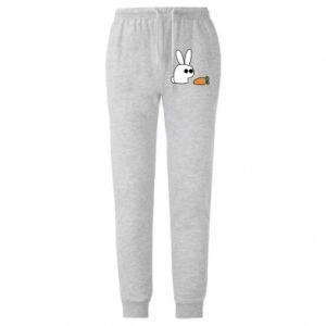Męskie spodnie lekkie Кróliczek z marchewką