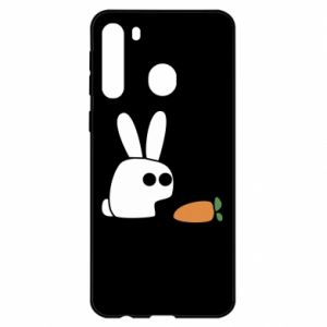 Samsung A21 Case Bunny with carrot