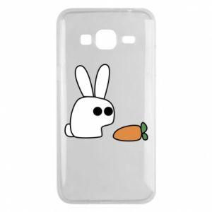 Etui na Samsung J3 2016 Кróliczek z marchewką