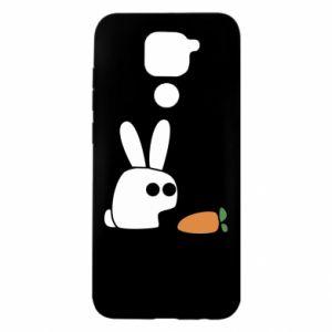 Xiaomi Redmi Note 9 / Redmi 10X case % print% Bunny with carrot