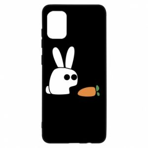 Samsung A31 Case Bunny with carrot