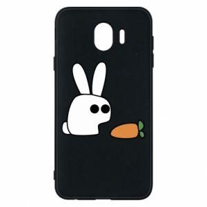 Etui na Samsung J4 Кróliczek z marchewką