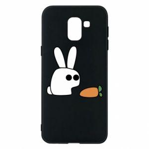 Etui na Samsung J6 Кróliczek z marchewką