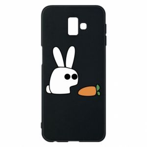 Phone case for Samsung J6 Plus 2018 Bunny with carrot