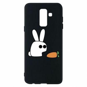Phone case for Samsung A6+ 2018 Bunny with carrot