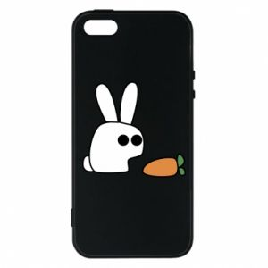 Phone case for iPhone 5/5S/SE Bunny with carrot