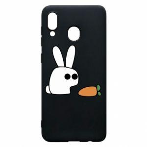 Etui na Samsung A30 Кróliczek z marchewką