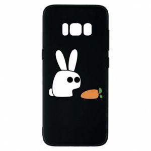 Etui na Samsung S8 Кróliczek z marchewką