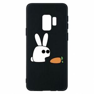 Etui na Samsung S9 Кróliczek z marchewką