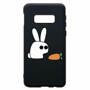 Etui na Samsung S10e Кróliczek z marchewką