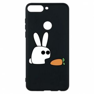 Phone case for Huawei Y7 Prime 2018 Bunny with carrot