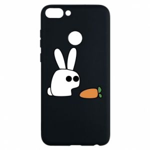 Phone case for Huawei P Smart Bunny with carrot
