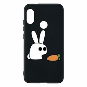 Phone case for Mi A2 Lite Bunny with carrot