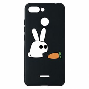 Phone case for Xiaomi Redmi 6 Bunny with carrot