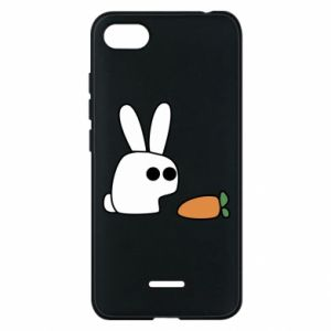 Phone case for Xiaomi Redmi 6A Bunny with carrot