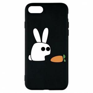 Etui na iPhone 7 Кróliczek z marchewką