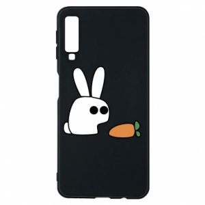 Phone case for Samsung A7 2018 Bunny with carrot