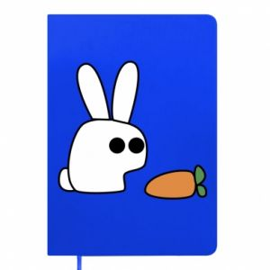 Notepad Bunny with carrot