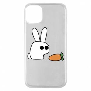Phone case for iPhone 11 Pro Bunny with carrot