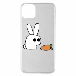 Phone case for iPhone 11 Pro Max Bunny with carrot